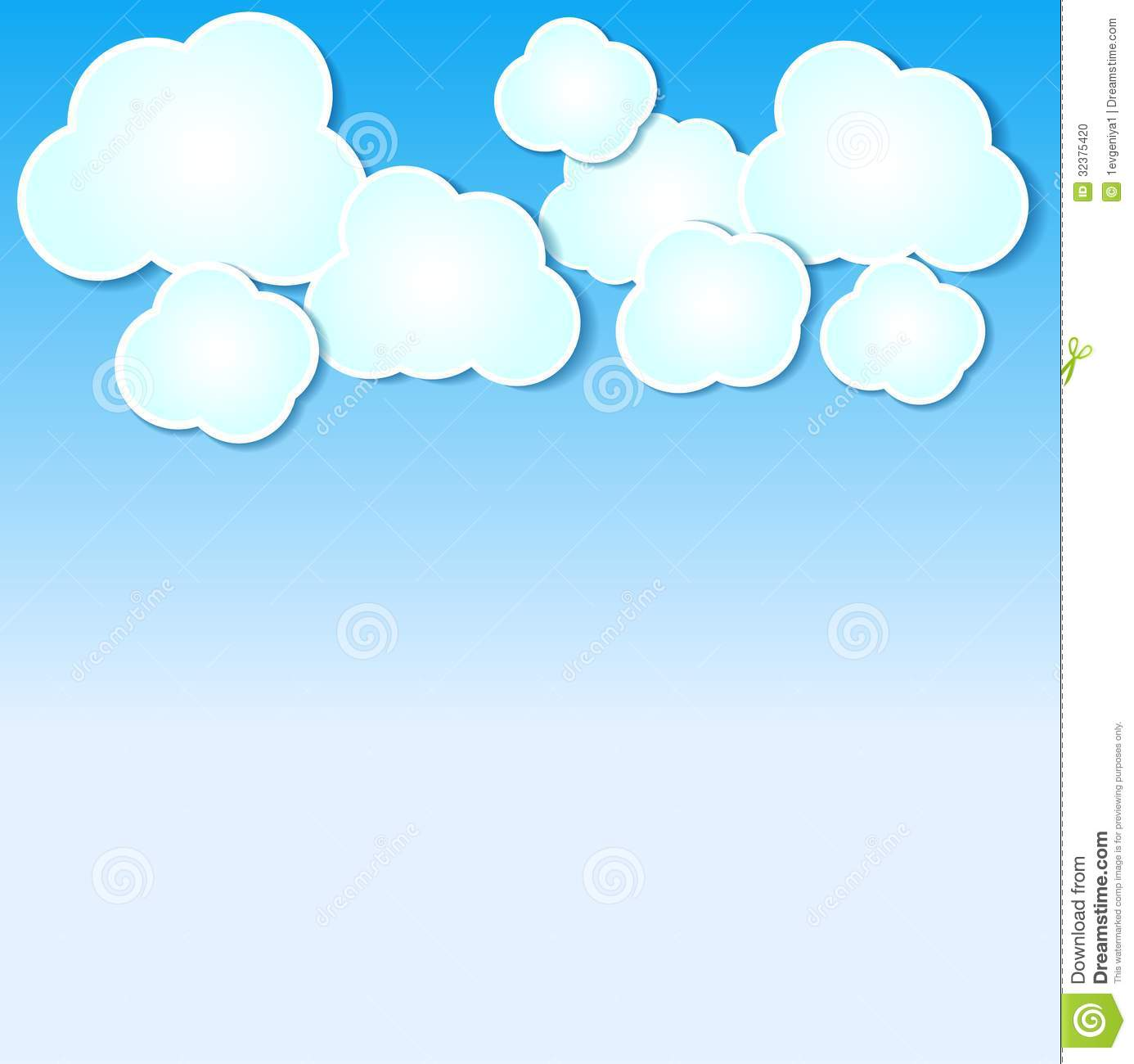 paper clouds illustrated clipart panda free clipart images rh clipartpanda com image clipart ski sky clipart free