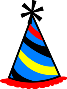 party hat blue red yellow clipart panda free clipart images rh clipartpanda com red hat birthday clipart birthday hat clipart png