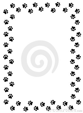 paw prints border clipart panda free clipart images rh clipartpanda com cat paw print border clip art bear paw print border clip art