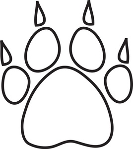 paw prints clip art images clipart panda free clipart images rh clipartpanda com paw print clipart black and white panther paw clipart black and white