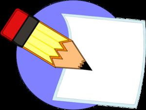 pencil writing on paper vector clipart panda free clipart images rh clipartpanda com Writing Clip Art pen writing on paper clipart