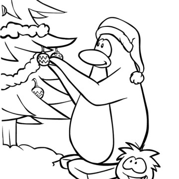 Penguin coloring pages | Clipart Panda - Free Clipart Images