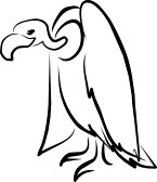 perched : vulture perched | Clipart Panda - Free Clipart Images