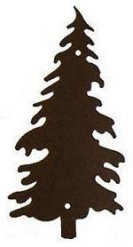 Pine Tree Design Wall