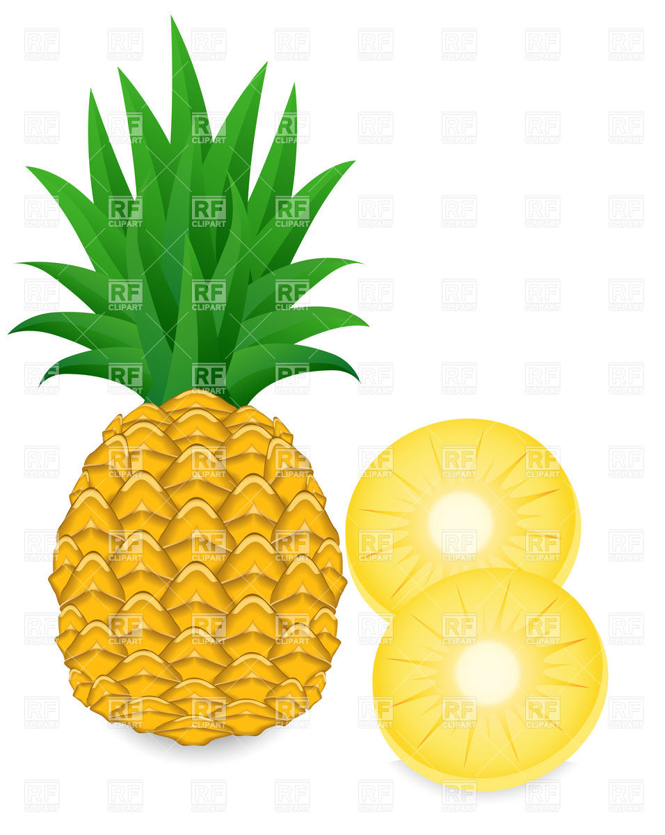 pineapple and slice download clipart panda free clipart images