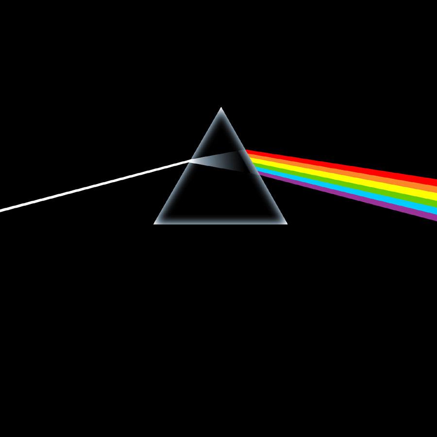 Pink Floyd Album Cover: Dark