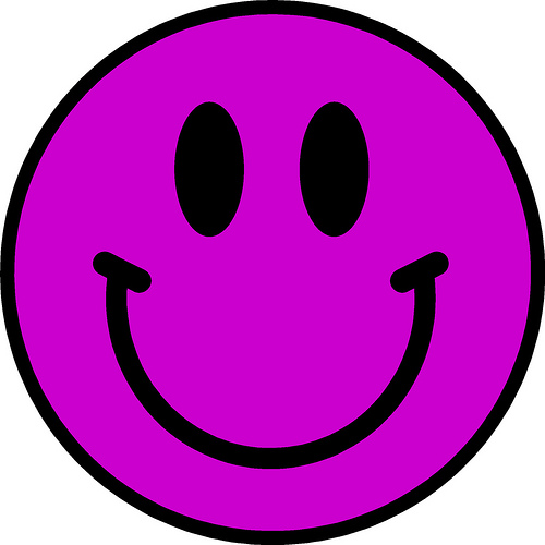 Smiley face pink. Clipart panda free images