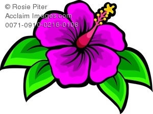 pink tropical flower | Clipart Panda - Free Clipart Images
