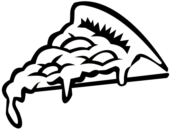 cheese pizza coloring page pizza coloring pages 1