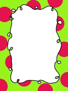 polka dot border curly frames clipart panda free clipart images rh clipartpanda com