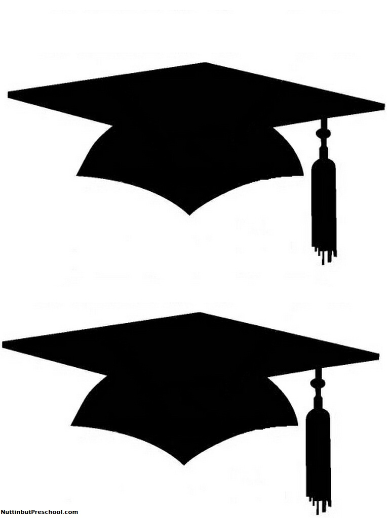 photograph about Printable Graduation Photo Booth Props named Printable Commencement Cap For Clipart Panda - No cost Clipart