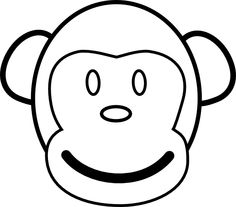 graphic relating to Monkey Template Printable called Printable Monkey Crafts Absolutely free Clipart Panda - Cost-free