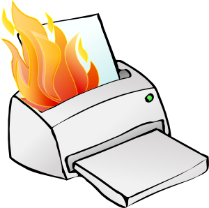 printer burning clip art clipart panda free clipart images rh clipartpanda com print clip art poster size on word printing clipart