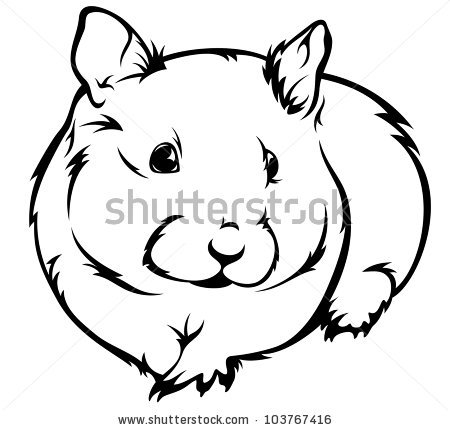 raster cute hamster clipart panda free clipart images rh clipartpanda com Hamsters Playing Sports Hamster Clip Art Black and White