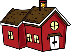 red schoolhouse clip art clipart panda free clipart images rh clipartpanda com school house clip art free school house clip art black and white