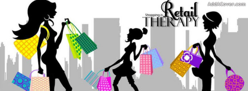 Retail Therapy Facebook Cover | Clipart Panda - Free Clipart ...