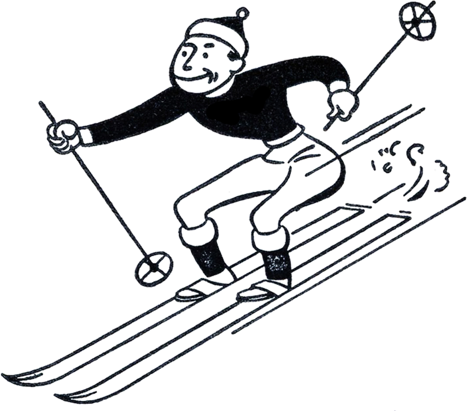 Image result for skis clipart
