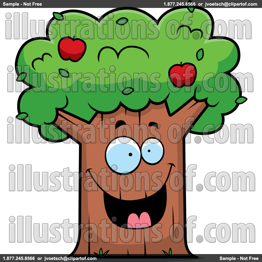 bare apple tree clipart. apple tree clip art: (rf) clipart bare