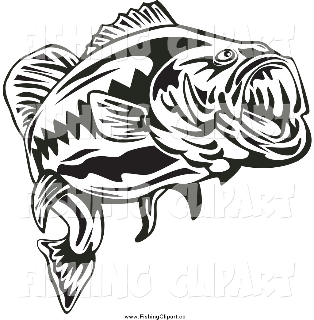 royalty free fishing clip art clipart panda free clipart images rh clipartpanda com  bass fish clipart black and white
