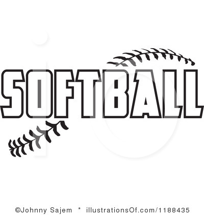 royalty free rf softball clipart panda free clipart images rh clipartpanda com softball logo vector softball logo maker
