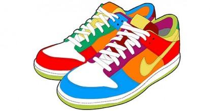running shoes clip art 15 clipart panda free clipart images rh clipartpanda com free clip art of shoes and boots free clipart of walking shoes