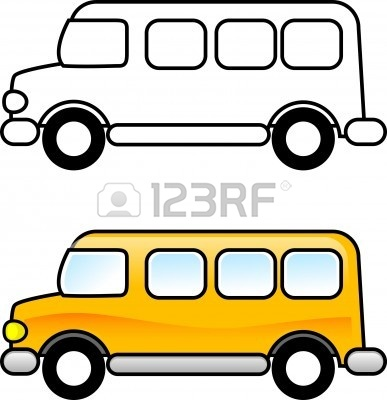 picture about Bus Printable called College Bus - Printable Clipart Panda - Cost-free Clipart Pictures