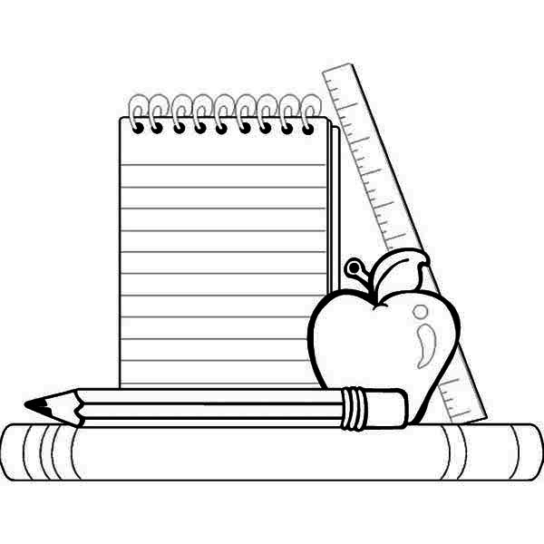 back to school coloring page school coloring page back
