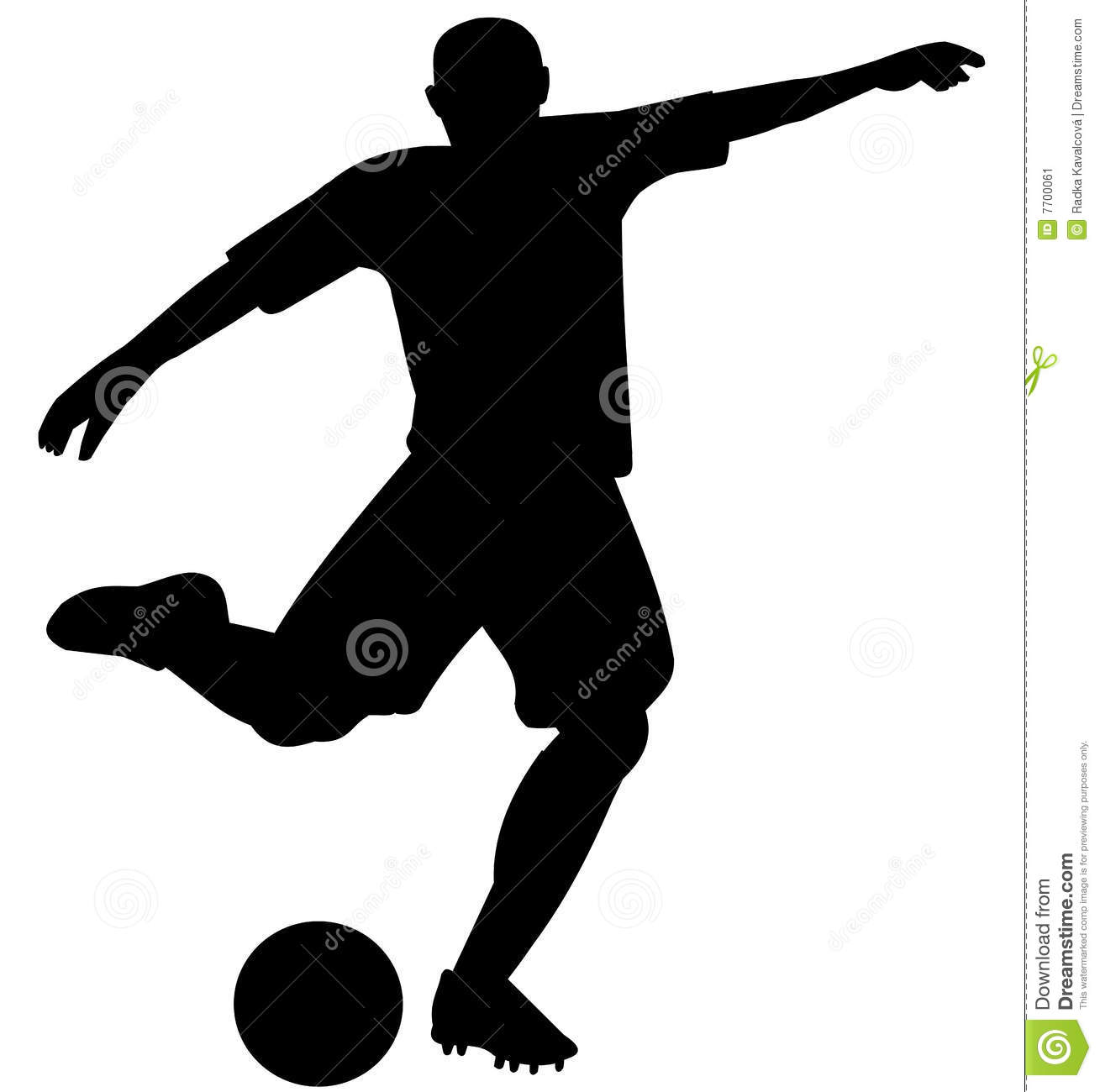 silhouette-soccer-player- ... | Clipart Panda - Free Clipart Images