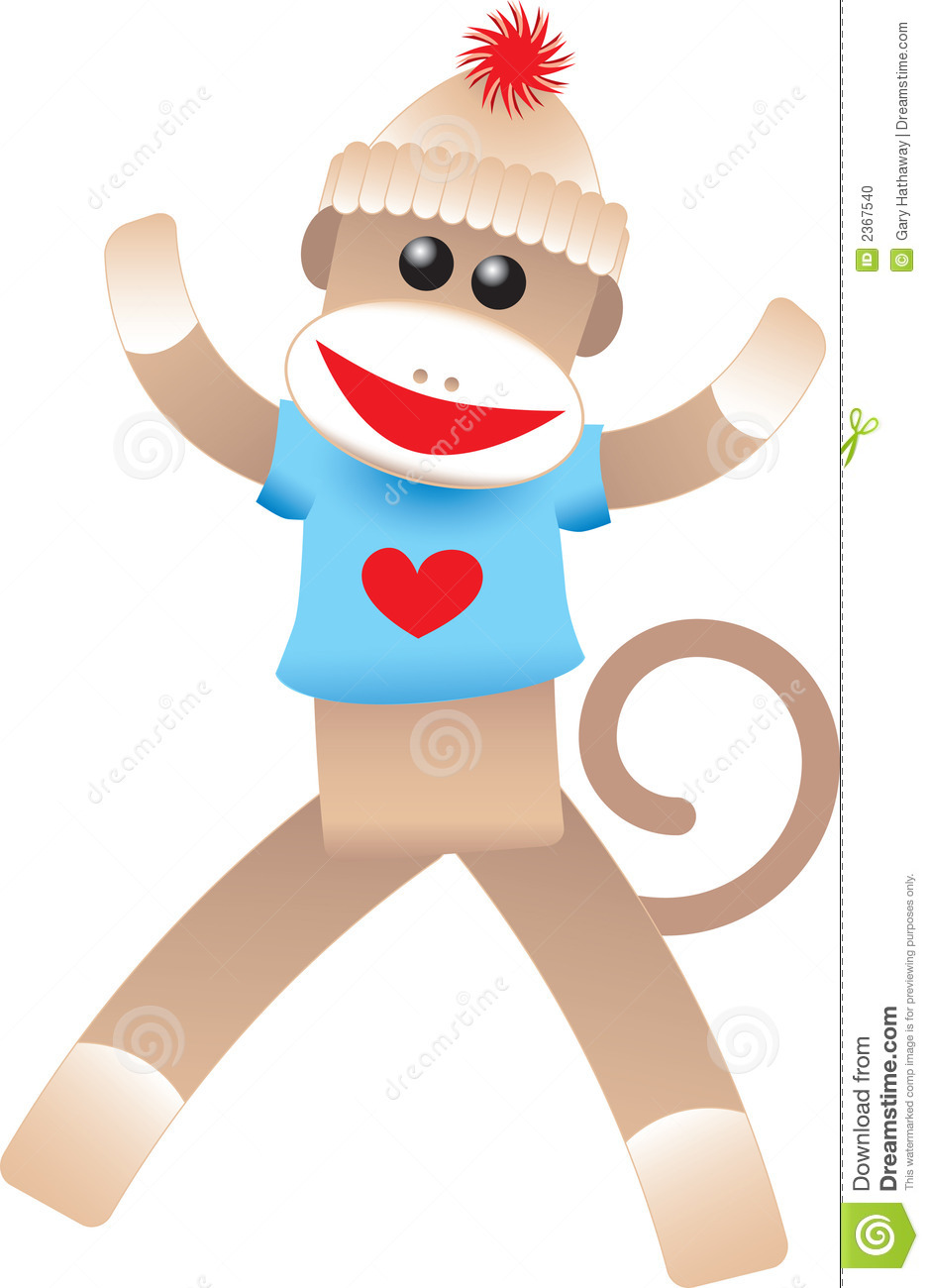 sock monkey cl clipart panda free clipart images rh clipartpanda com