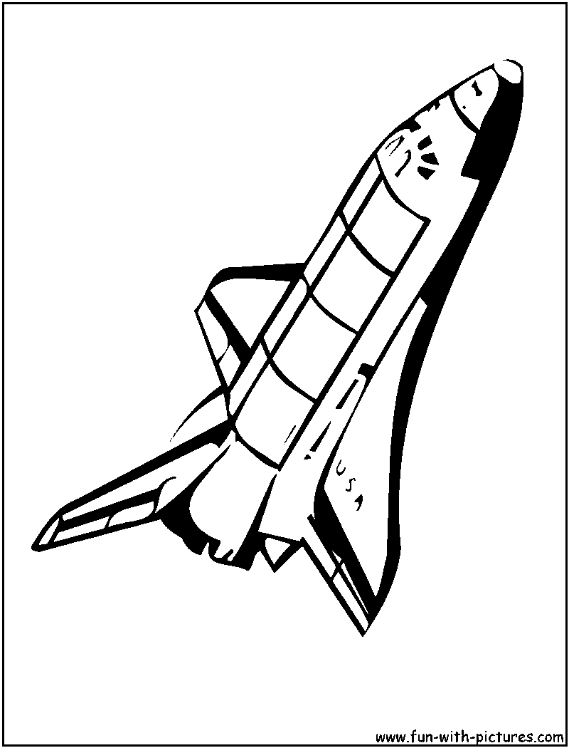 Uncategorized Space Shuttle Coloring Pages space shuttle coloring 7 clipart panda free images info