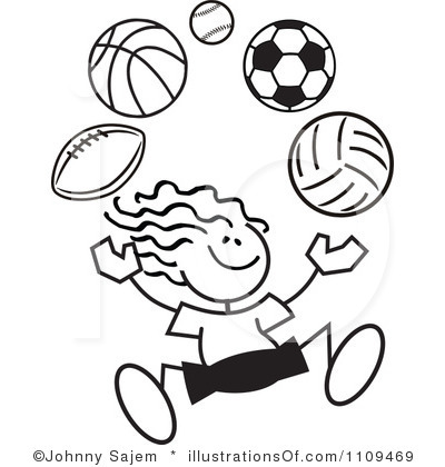 sports day clip art free clipart panda free clipart images rh clipartpanda com free sports clipart images sporty girl clipart images