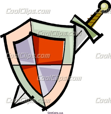 sword and shield clipart panda free clipart images