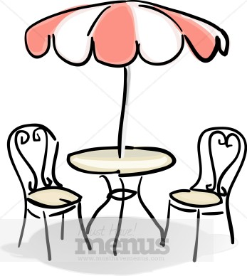 Tables And Chairs Clipart Clipart Panda Free Clipart Images - Table and chairs clipart