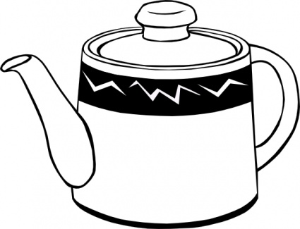 tea pot clip art clipart panda free clipart images rh clipartpanda com vintage coffee pot clipart empty coffee pot clipart