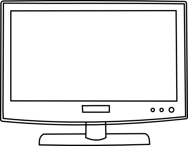 tv clipart png. clipart info tv png