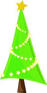This christmas tree clip art | Clipart