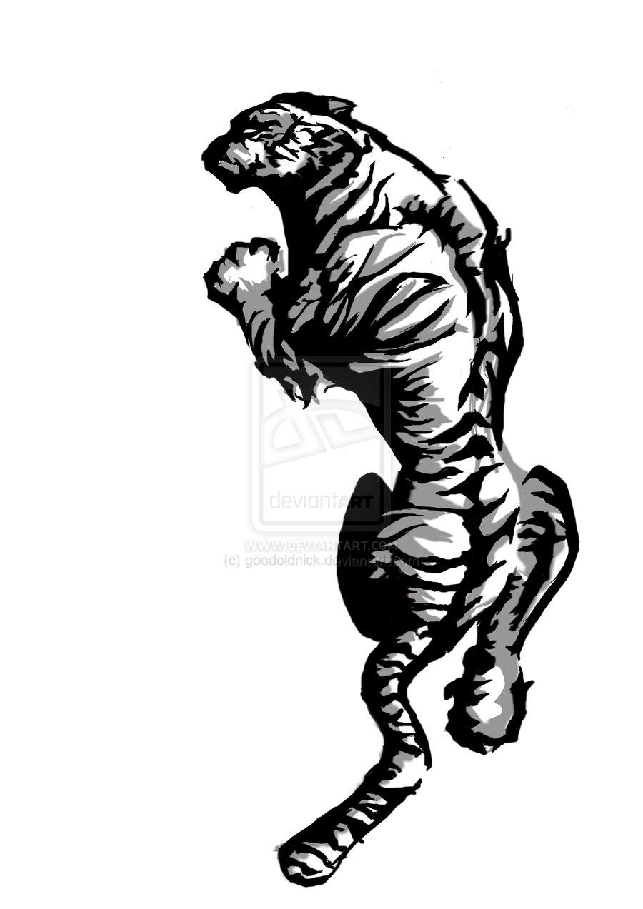 This Is Tiger Tattoo Design By Clipart Panda Free Clipart Images