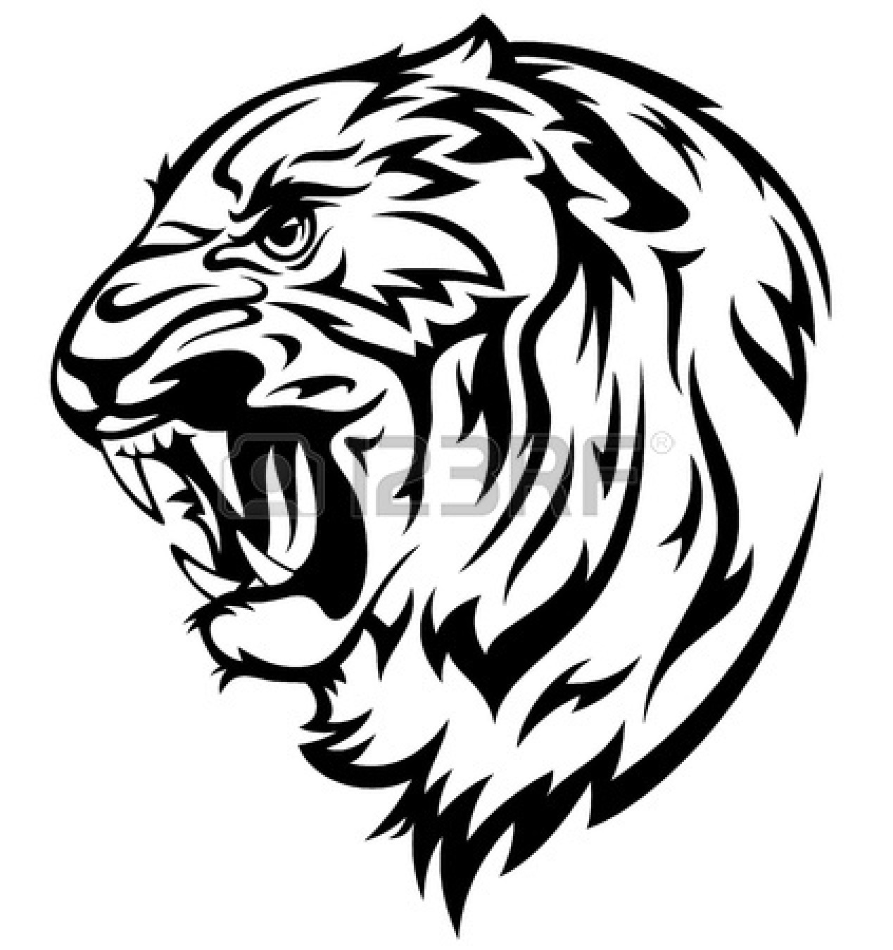 tiger face clip art black clipart panda free clipart images rh clipartpanda com angry tiger face clipart tiger face clipart easy