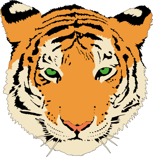tiger svg clipart panda free clipart images rh clipartpanda com tiger face clip art free vector tiger face vector clipart of tiger face