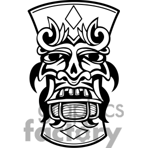 Tiki design | Clipart Panda - Free Clipart Images