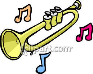 trumpet clipart panda free clipart images rh clipartpanda com trumpet clip art black and white trumpet clip art black and white