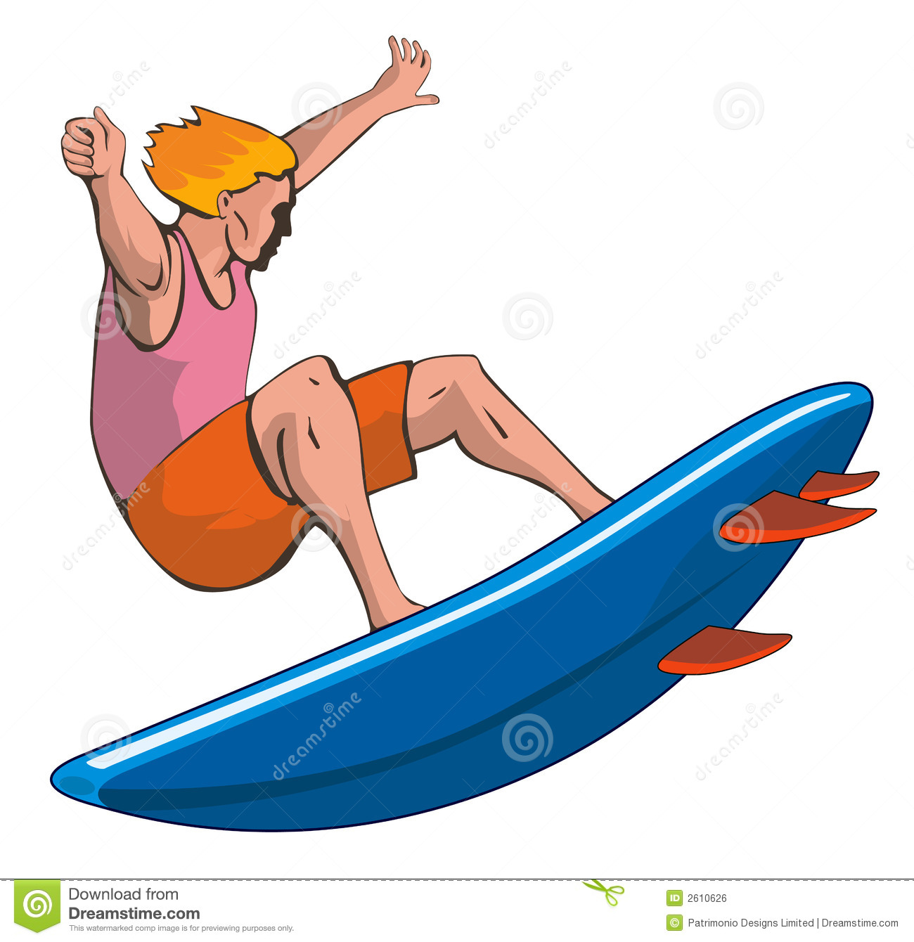 vector art of a surfer dude clipart panda free clipart images rh clipartpanda com Girl Surfing Clip Art Surfing Backgrounds