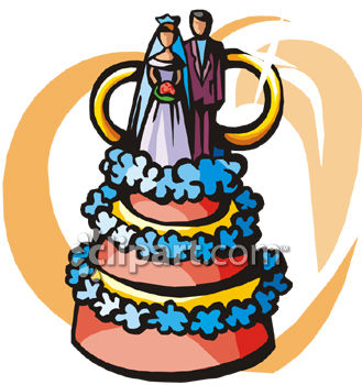 Wedding Cake Decorated With