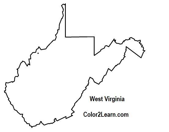 West Virginia State Map  Clipart Panda  Free Clipart Images