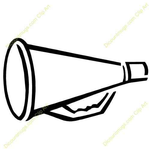 white megaphone clip art clipart panda free clipart images rh clipartpanda com  cheer megaphone clipart free