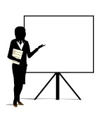 woman presentation clipart | Clipart Panda - Free Clipart Images
